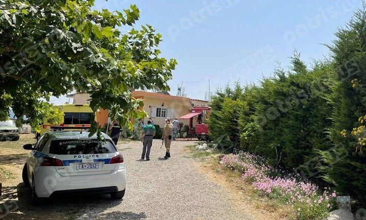 Ηλεία - Ειρωνεία της μοίρα: 100 μέτρα από το πατρικό σπίτι του πιλότου συνετρίβη το αεροσκάφος (vid)