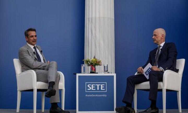 Κ. Μητσοτάκης στον ΣΕΤΕ: Εντός του καλοκαιριού θα χτίσουμε ένα τείχος ανοσίας