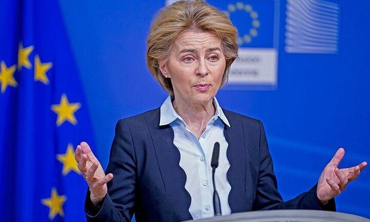 Φον ντερ Λάιεν:«Η ΕΕ δεν θα δεχθεί ποτέ λύση δύο κρατών για την Κύπρο»