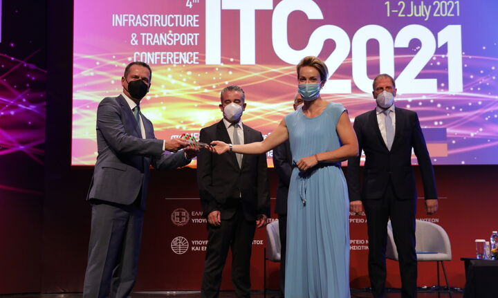 Η διασύνδεση Κρήτης - Πελοποννήσου βραβεύθηκε ως «Έργο της Χρονιάς 2020»