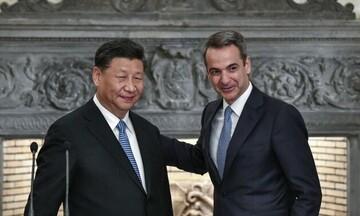 Επικοινωνία Μητσοτάκη -Τζινπίνγκ για σχέσεις Ελλάδας - Κίνας, Ανατολική Μεσόγειο και Κυπριακό