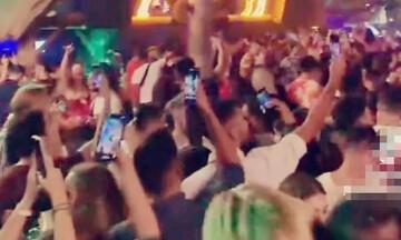 Εισαγγελική παρέμβαση για το «κορωνοπάρτι» σε beach bar στον Άλιμο