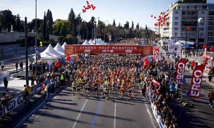 Άνοιξαν οι εγγραφές για τον Ημιμαραθώνιο Αθήνας
