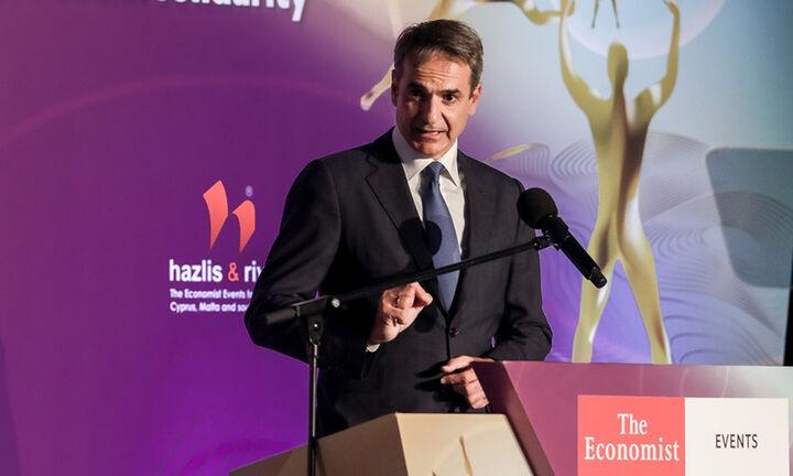 Κυρ. Μητσοτάκης στο συνέδριο του Economist: Τέσσερις λόγοι αισιοδοξίας για το μέλλον της οικονομίας