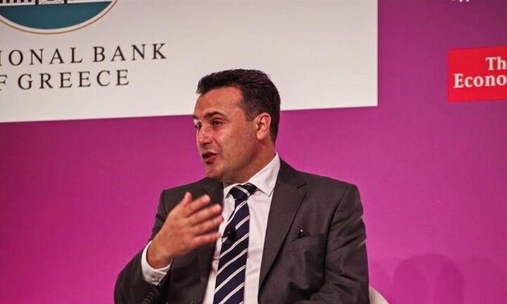 Ζάεφ στο Συνέδριο Economist: «Είμαι πολύ χαρούμενος για την υπογραφή της συμφωνίας με τη ΔΕΣΦΑ»