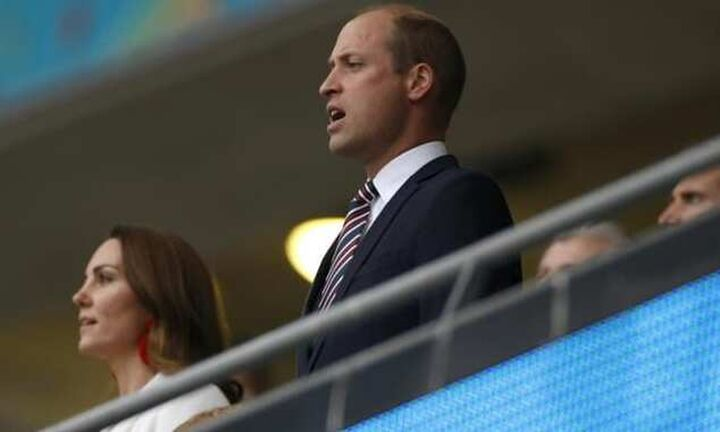 Euro 2020 - Πρίγκηπας Γουίλιαμ: «Αηδιασμένος από τις ρατσιστικές επιθέσεις»
