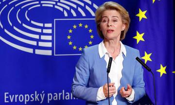 Φον ντερ Λάιεν: Το σχόλιο στα ελληνικά για την έγκριση του Εθνικού Σχεδίου Ανάκαμψης