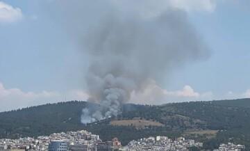 Πυροσβεστική: Σε ύφεση η φωτιά στο Σέιχ Σου