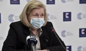 Μ. Θεoδωρίδου: Οι ανεμβολίαστοι λειτουργούν ως εργαστήριο νέων μεταλλάξεων