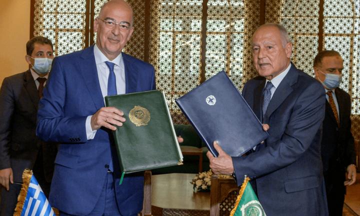 Μνημόνιο συνεργασίας Ελλάδας και Αραβικού Συνδέσμου