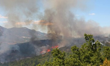 Πολιτική Προστασία: Πολύ υψηλός κίνδυνος πυρκαγιάς αύριο