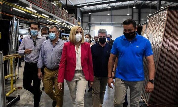 Φώφη Γεννηματά: Η κυβέρνηση να στηρίξει τις επιχειρήσεις που είναι πρωτοπόρες στις εξαγωγές