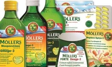 Δικαστικό μπλόκο σε διαφημίσεις προϊόντων Moller's