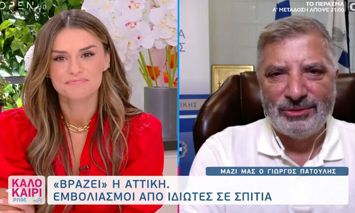 Χαμός στον «αέρα» του Open - Πατούλης σε Τσολάκη: «Κάνετε κακό μέσα από τηλεοπτικές εκπομπές» (vid)