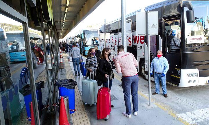 Μειωμένος κατά 65,5% ο εισερχόμενος τουρισμός στο πεντάμηνο Ιανουαρίου - Μαΐου
