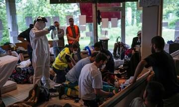 Βέλγιο: Κίνδυνος κατάρρευσης της κυβέρνησης από την απεργία πείνας εκατοντάδων μεταναστών