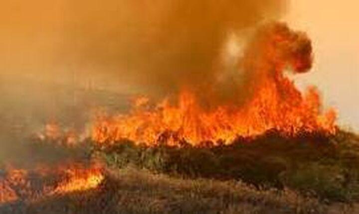 ΓΓΠΠ - Προσοχή: Σε ποιες περιοχές υπάρχει υψηλός κίνδυνος πυρκαγιάς την Παρασκευή
