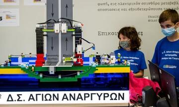 Μεγάλο ενδιαφέρον για τους τελικούς εκπαιδευτικής ρομποτικής
