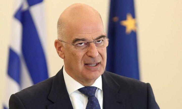 Αιχμές Δένδια για την στάση της ΕΕ στο Κυπριακό και τις γερμανικές εξαγωγές όπλων στην Τουρκία