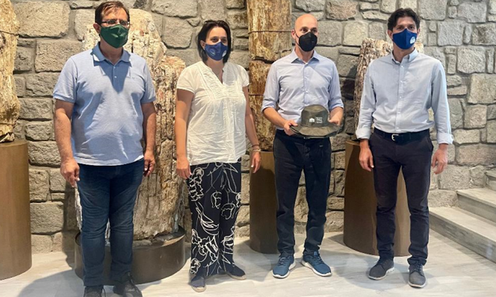 Τη Λέσβο επισκέφθηκαν ο Υφυπουργός Περιβάλλοντος, Γ.Αμυράς και η Υφυπουργός Τουρισμού, Σ.Ζαχαράκη