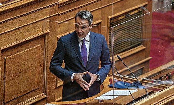Μητσοτάκης - Βουλή: Δεν διχάζουμε τους πολίτες για να εμβολιαστούν