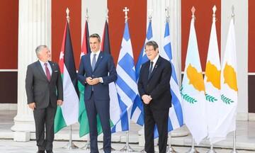 Κοινή δήλωση Ελλάδας-Ιορδανίας-Κύπρου για μια δίκαιη, συνολική και βιώσιμη επίλυση του Κυπριακού