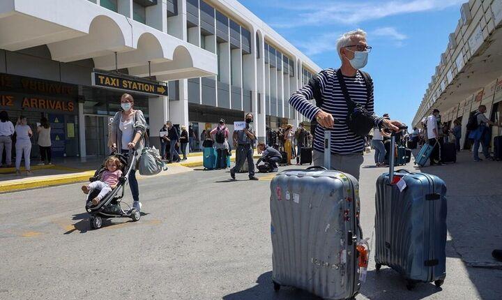 ΕΛΣΤΑΤ: Μείωση 27,4% στις ταξιδιωτικές δαπάνες το 2020