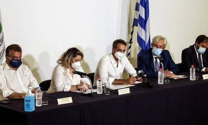 Κυρ. Μητσοτάκης: Η χώρα δεν θα ξανακλείσει - Οικονομία και κοινωνία θα εξακολουθεί να δουλεύει