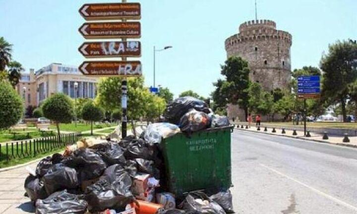 Θεσσαλονίκη: Mόνο το βράδυ να κατεβάζουν σκουπίδια για όσο διαρκεί ο καύσωνας
