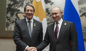 Πούτιν σε Αναστασιάδη: Απαράδεκτες οι μονομερείς ενέργειες