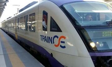 ΤΡΑΙΝΟΣΕ: Αναστέλλονται σιδηροδρομικά δρομολόγια λόγω της πυρκαγιάς
