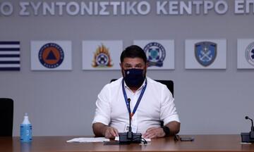 Ν. Χαρδαλιάς: Δίνουμε μάχη σε πολλαπλά μέτωπα σε Εύβοια, Ηλεία, Μεσσηνία, Χαλκιδική