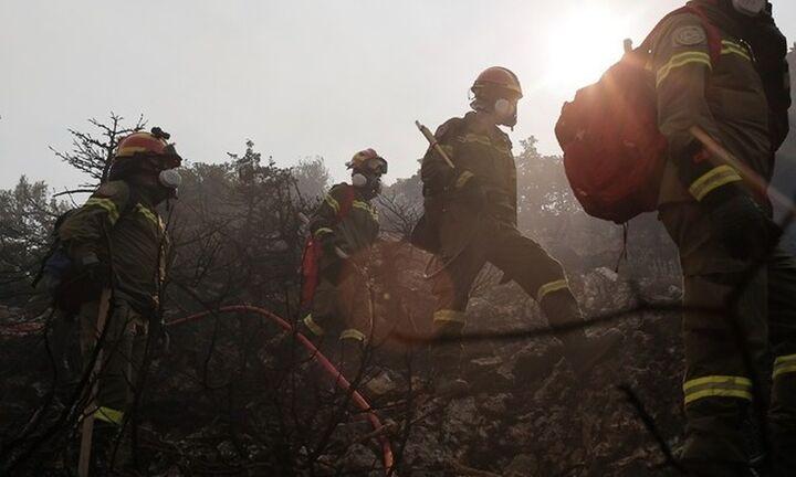 Mαίνεται η φωτιά στη Μέλπεια Μεσσηνίας, στα δύο μέτωπα της Αρκαδίας, στη Μεγαλόπολη και τη Γορτυνία