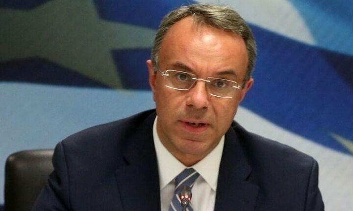 Σταϊκούρας: Παρεμβάσεις του υπ. Οικονομικών υπέρ των πυρόπληκτων
