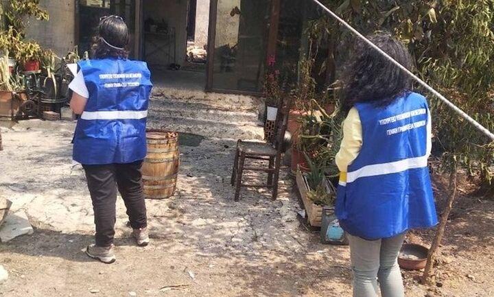 Φωτιές: Ξεκίνησε την απογραφή και καταγραφή ζημιών