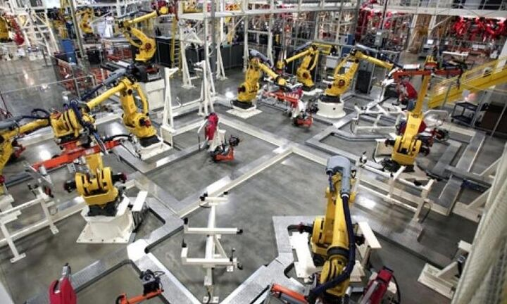 Αύξηση 8,8% στη βιομηχανική παραγωγή τον Ιούνιο