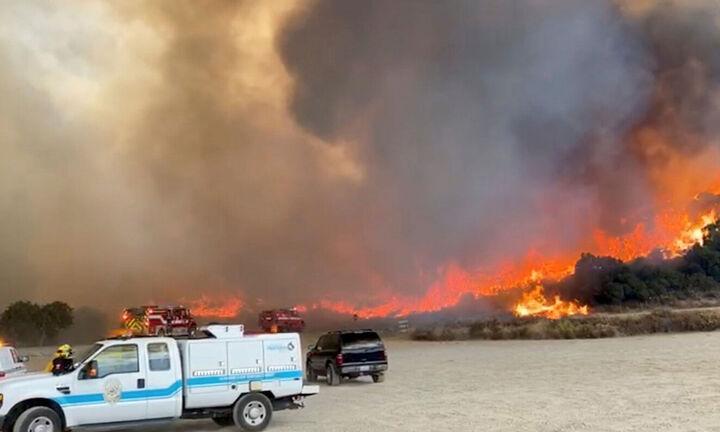Καίγεται και η Καλιφόρνια - Η δεύτερη μεγαλύτερη πυρκαγιά στην ιστορία της