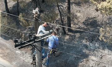 ΔΕΔΔΗΕ: 690 άτομα για την αποκατάσταση των ζημιών στο Δίκτυο Ηλεκτρικής Ενέργειας στην Αττική