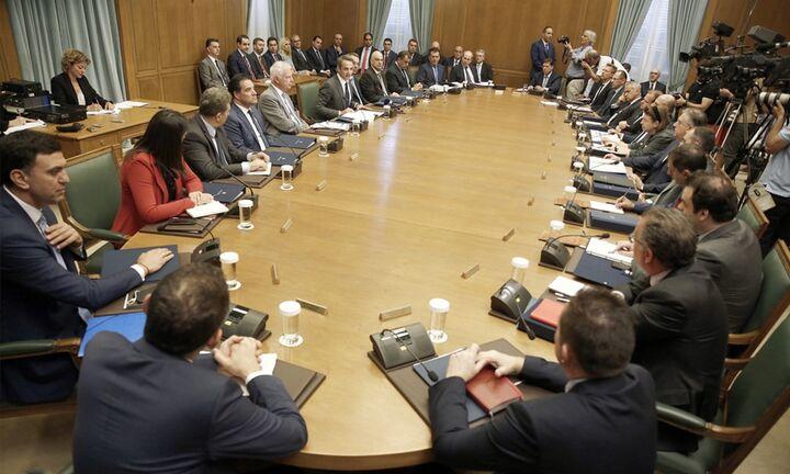 Υπουργικό για τα μέτρα στήριξης των πυρόπληκτων - Την Πέμπτη η συνέντευξη Τύπου Μητσοτάκη