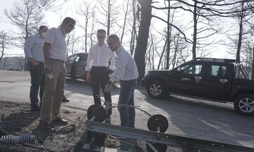 ΔEΔΔΗΕ: Αποκατάσταση των ζημιών στο Δίκτυο Ηλεκτρικής Ενέργειας λόγω των πυρκαγιών