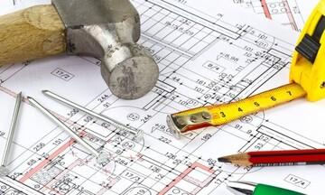 ΕΛΣΤΑΤ: Αύξηση 63,5% στον αριθμό των οικοδομικών αδειών τον Μάιο
