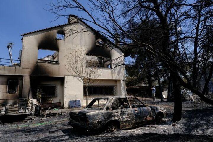 Υπ. Υποδομών: Έλεγχοι στα κτίρια στις πυρόπληκτες περιοχές