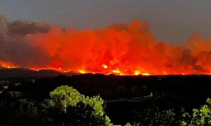 Μεγάλη πυρκαγιά στη Γαλλία - Εκκενώνονται περιοχές στην ενδοχώρα του Σεν Τροπέ