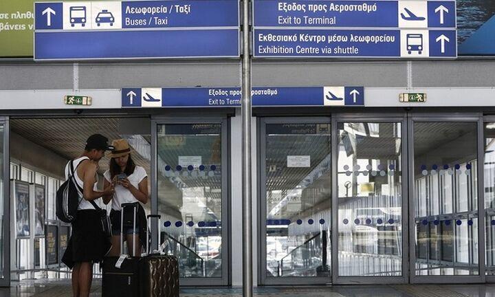 Αύξηση 146% στις αφίξεις από το εξωτερικό στα αεροδρόμια τον Ιούλιο