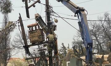 ΔΕΔΔΗΕ: Συνεχίζεται η αποκατάσταση της ηλεκτροδότησης