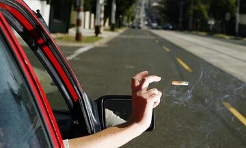 Χαλκιδική: Πρόστιμο 400 ευρώ γιατί πέταξε αναμμένο τσιγάρο από αυτοκίνητο
