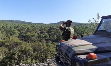 Περιπολίες στρατού και αστυνομίας σε δάση για την πρόληψη πυρκαγιών