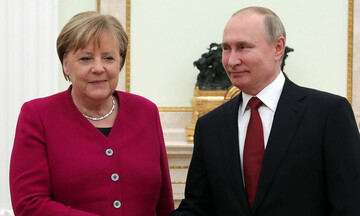 Συνομιλίες Πούτιν  και Μέρκελ στην Μόσχα