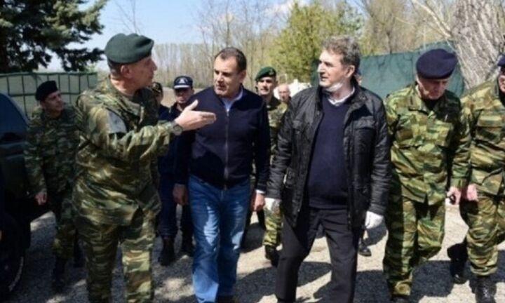 Στις Καστανίες Έβρου ο Ν. Παναγιωτόπουλος και ο Μ. Χρυσοχοΐδης