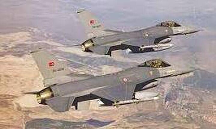 Νέα πρόκληση: Υπερπτήσεις τουρκικών F-16 πάνω από ελληνικά νησιά